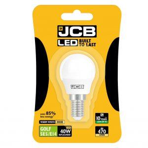 JCB LED GOLF 470lm OPAL E14 (SES) 3000K, PACK OF 1