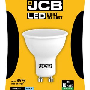 JCB LED GU10 370lm 6500K, PACK OF 1