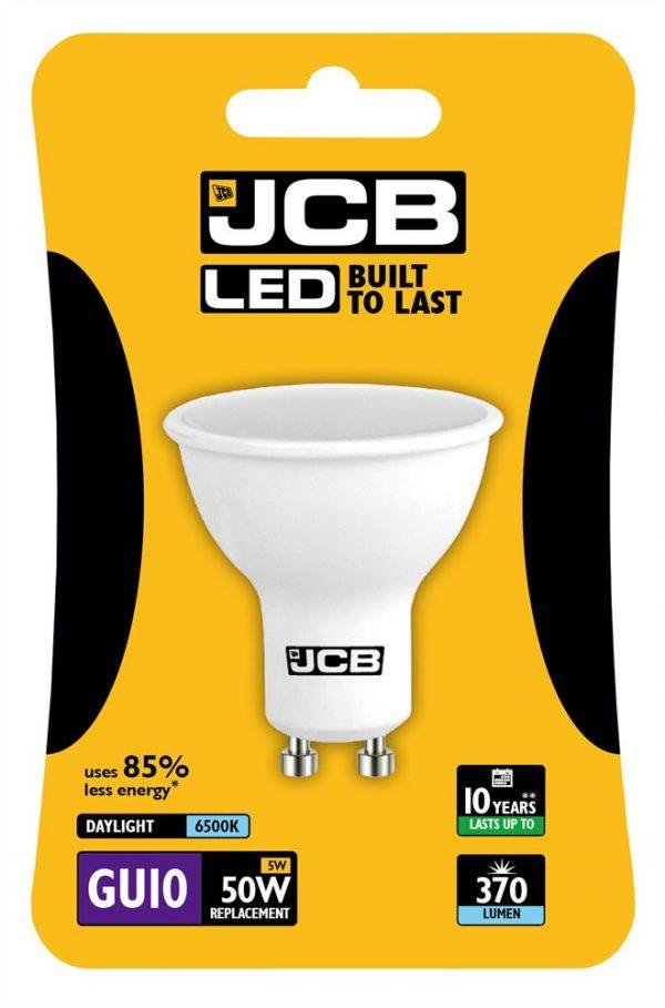 JCB LED GU10 370lm 6500K, PACK OF 1