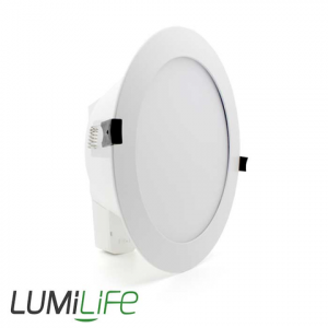 LUMILIFE 13W LED DOWNLIGHT WITH FROSTED DIFFUSER - LOOP IN & OUT - TRI-WHITE