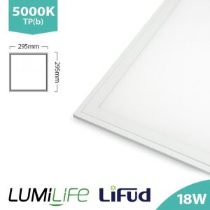 LUMILIFE 18W 300 x 300 LED PANEL - NON-FLICKER DRIVER - 5000K