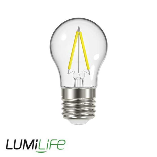 LUMILIFE 2.3W E27 (ES) Golf Filament LED - 250 Lumen - Warm White (2700K)