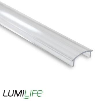 LUMILIFE 2M CLEAR COVER FOR ALUMINIUM PROFILE