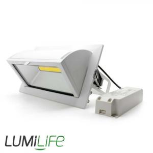 LUMILIFE 35W LED RECESSED DOWNLIGHT - RECTANLGE - WHITE