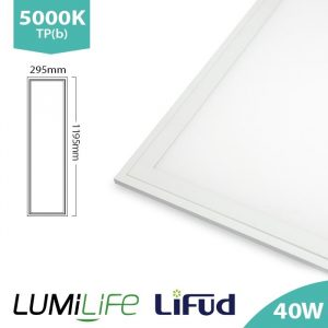 LUMILIFE 40W 300 x 1200 LED PANEL - NON-FLICKER DRIVER - 5000K