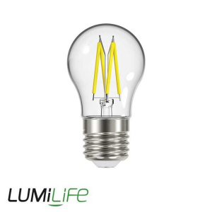 LUMILIFE 4.8W E27 (ES) Golf Filament LED - 450 Lumen - Warm White (2700K) - Dimmable