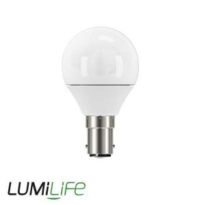 LUMILIFE 5W B15 (SBC) Golf LED - 470 Lumen - Warm White (2700K) - Dimmable