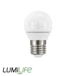 LUMILIFE 5W E27 (ES) GOLF LED - 470 LUMEN - WARM WHITE - DIMMABLE