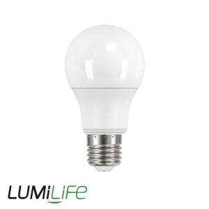 LUMILIFE 8.2W E27 (ES) GLS LED - 806 LUMEN - WARM WHITE