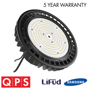 QPS HIGH EFFICIENCY UFO HIGH BAY - 5700K - 150W